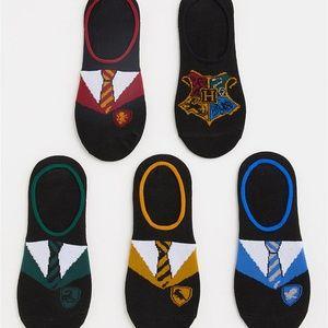 Torrid SOCKS Harry Potter No Show Pack/5 Hogwarts